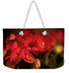 Lovely In Red Weekender Tote Bag