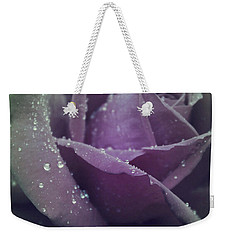 Weekender Tote Bag featuring the photograph Lovely In The Rain by The Art Of Marilyn Ridoutt-Greene