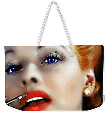 Lovely Lucille Weekender Tote Bag