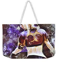 Lovely Night Weekender Tote Bag