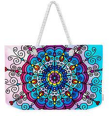 Lovely Summer Colors Weekender Tote Bag by Gabriella Weninger - David