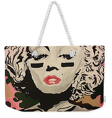 Lover And A Fighter  Weekender Tote Bag by Miriam Moran