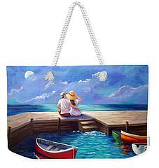Lovers In The Moonlight Weekender Tote Bag
