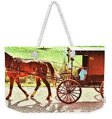 Lovers Red Pony Weekender Tote Bag