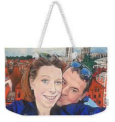 Lovers Selfie In York, England Weekender Tote Bag