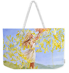 Love's Flight Weekender Tote Bag