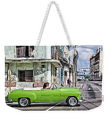 Lovin' Lime Green Chevy Weekender Tote Bag