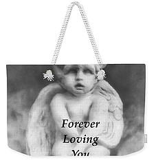 Loving Angel  Weekender Tote Bag