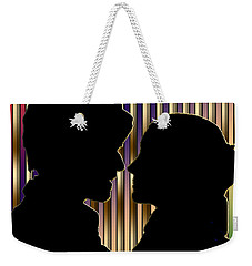 Weekender Tote Bag featuring the digital art Loving Couple - Chuck Staley by Chuck Staley