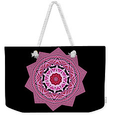 Loving Rose Mandala By Kaye Menner Weekender Tote Bag