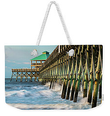 Low Country Landmark Weekender Tote Bag