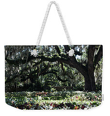 Weekender Tote Bag featuring the photograph Low Country Series I by Suzanne Gaff