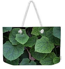 Low Key Green Vines Weekender Tote Bag by Jingjits Photography