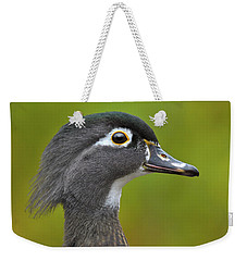 Weekender Tote Bag featuring the photograph Low Key by Tony Beck