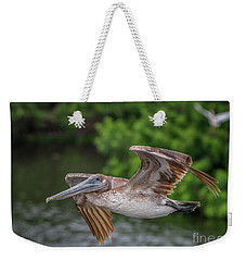 Low Pass Pelican #1 Weekender Tote Bag