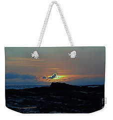 Low Profile Sunset Weekender Tote Bag by Craig Wood