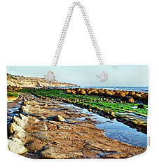 Low Tide At Bowling Ball Beach Weekender Tote Bag