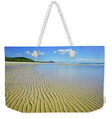 Low Tide Beach Ripples Weekender Tote Bag