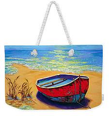 Low Tide - Impressionistic Art, Landscpae Painting Weekender Tote Bag