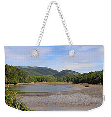 Weekender Tote Bag featuring the photograph Low Tide In Acadia by Living Color Photography Lorraine Lynch