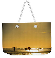 Weekender Tote Bag featuring the photograph Low Tide by Mitch Shindelbower