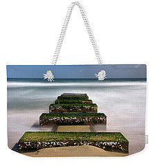 Low Tide Reveal Weekender Tote Bag