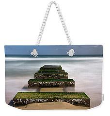 Low Tide Reveal Weekender Tote Bag