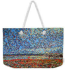Low Tide - St. Andrews Wharf Weekender Tote Bag