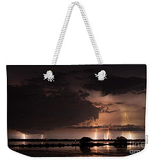 Low Tide With High Energy Weekender Tote Bag