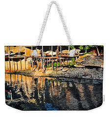 Low Water Weekender Tote Bag