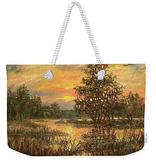 Lowcountry Sky Weekender Tote Bag by Kathleen McDermott