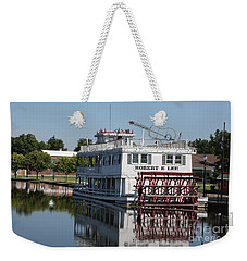 Weekender Tote Bag featuring the photograph Lowell Show Boat by Robert Pearson