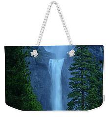 Lower And Middle Yosemite Falls Weekender Tote Bag