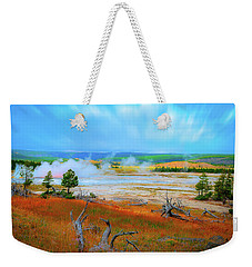 Lower Basin Weekender Tote Bag by Mark Dunton