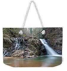 Lower Brasstown Falls Weekender Tote Bag