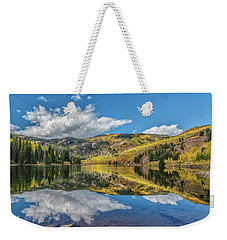 Lower Cataract Lake Aspen Weekender Tote Bag