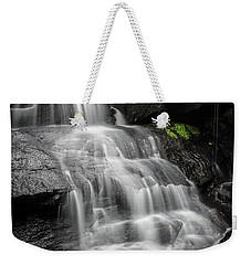 Lower Falls Cascade At Triple Falls Weekender Tote Bag