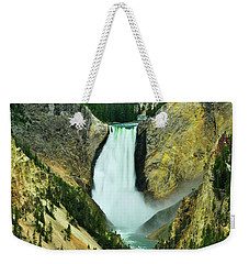 Lower Falls No Border Or Caption Weekender Tote Bag