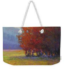 Lower Farm Field Weekender Tote Bag