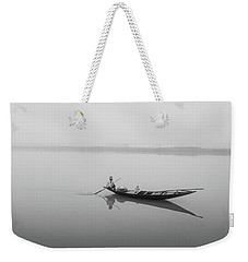 Lower Ganges - Misty Morinings Weekender Tote Bag