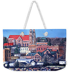 Lower Harbor-marquette Michigan Weekender Tote Bag