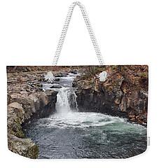 Lower Mccloud Falls Weekender Tote Bag