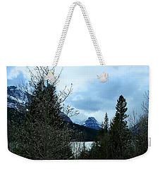 Lower Two Med Lake Through The Trees Weekender Tote Bag