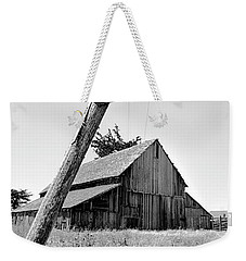 Lowering The Bar In Black And White Weekender Tote Bag