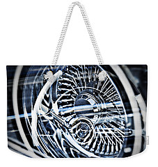 Lowrider Wheel Illusions 1 Weekender Tote Bag