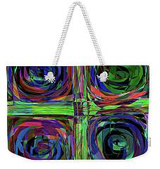 Ltter To Kandinsky Weekender Tote Bag by Danica Radman