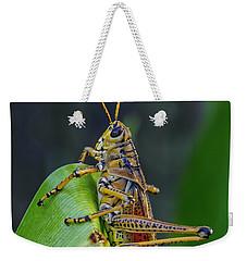 Lubber Grasshopper Weekender Tote Bag