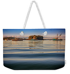 Weekender Tote Bag featuring the photograph Lubec Harbor by Rick Berk