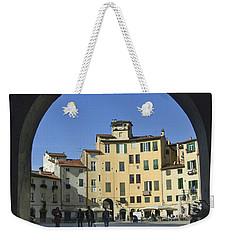 Lucca Piazza Weekender Tote Bag