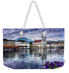 Lucerne In Switzerland  Weekender Tote Bag